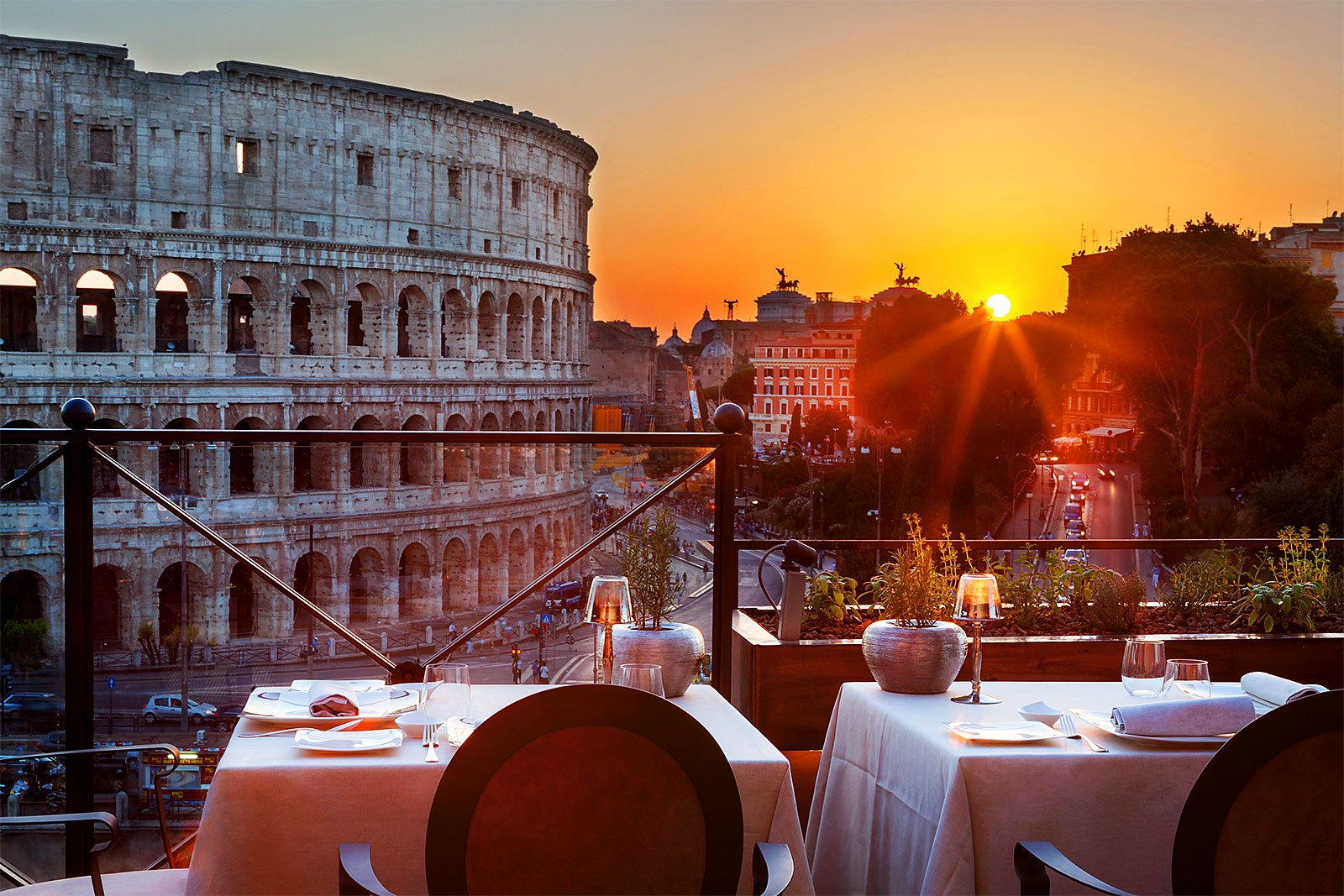 Top-10 restaurants in Rome with an incredible view