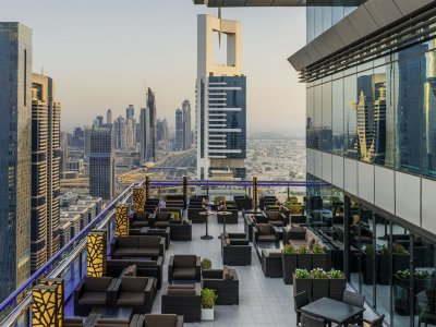 Top-7 rooftop bars in Dubai