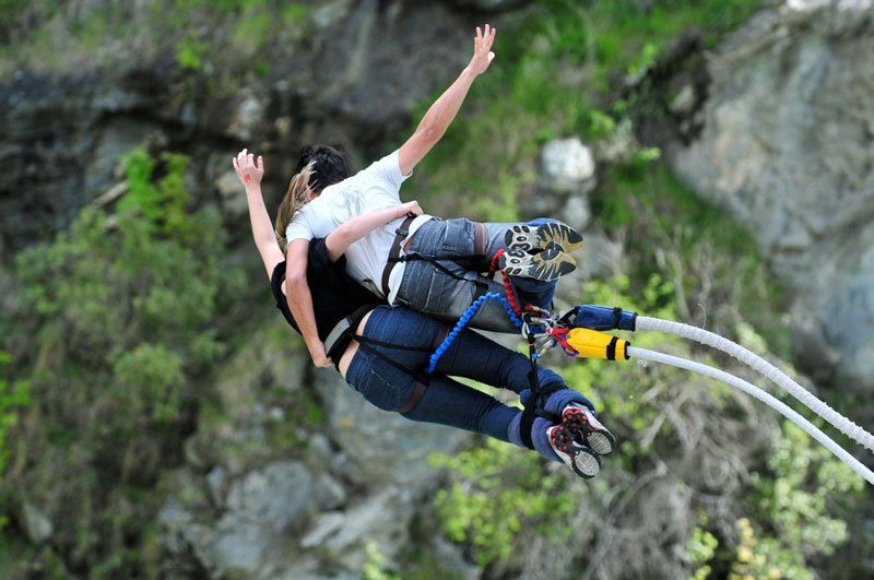 Bungy jumping, Queenstown