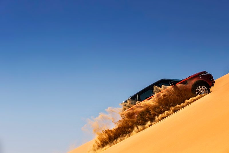 Desert jeep safari, Dubai