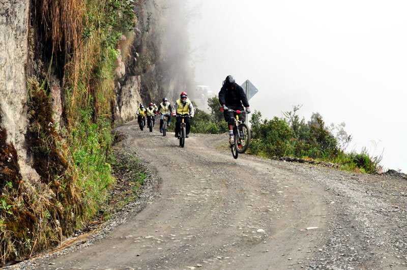 Death Road Descent, La Paz