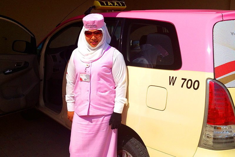 Taxi for women, Dubai