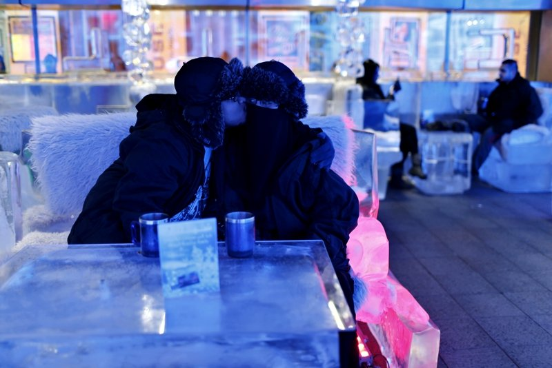 Ice restaurant, Dubai