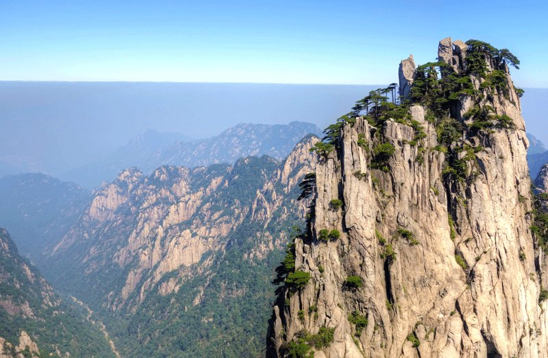 Huangshan Mountains, Hangzhou
