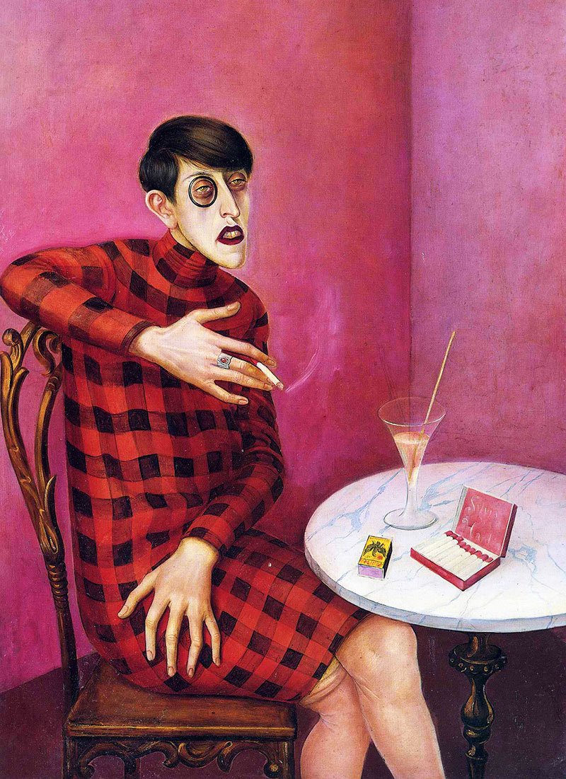 Portrait of a Journalist Sylvia von Harden, Paris