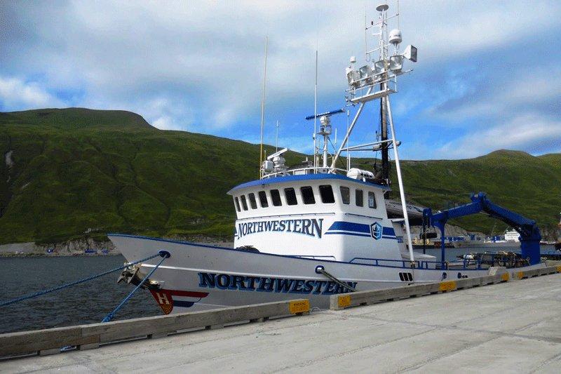 Northwestern ferry boat from the Deadliest Catch, Juneau