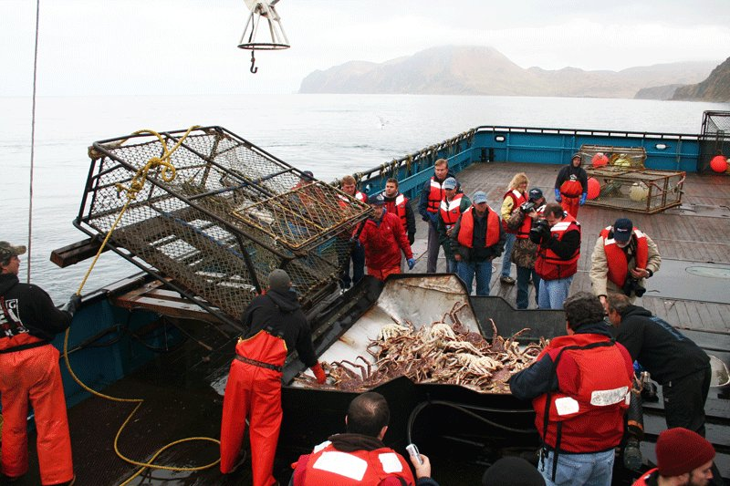 Crab fishing in the Bering Sea, Juneau