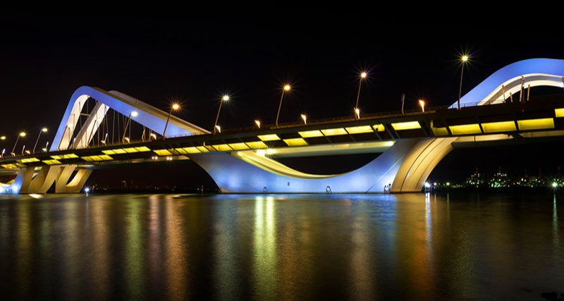 Sheikh Zayed Bridge, Abu Dhabi