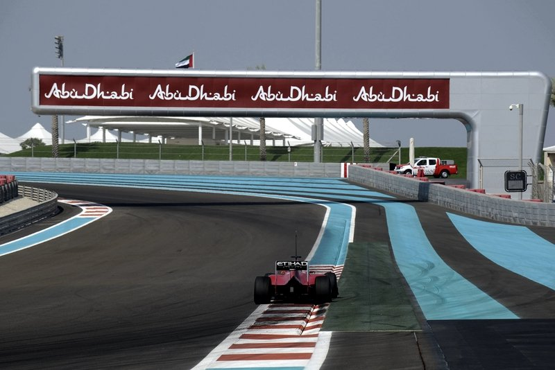 Formula 1 car-racing track, Abu Dhabi