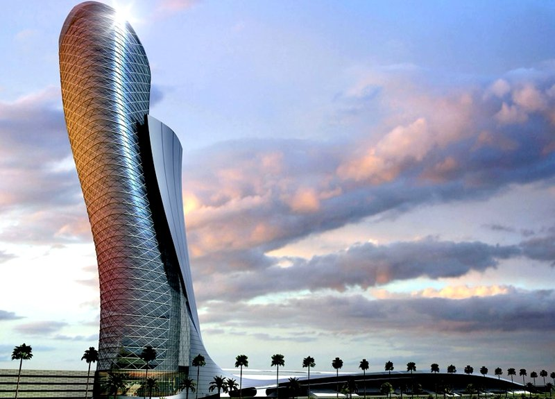 The Capital Gate, Abu Dhabi