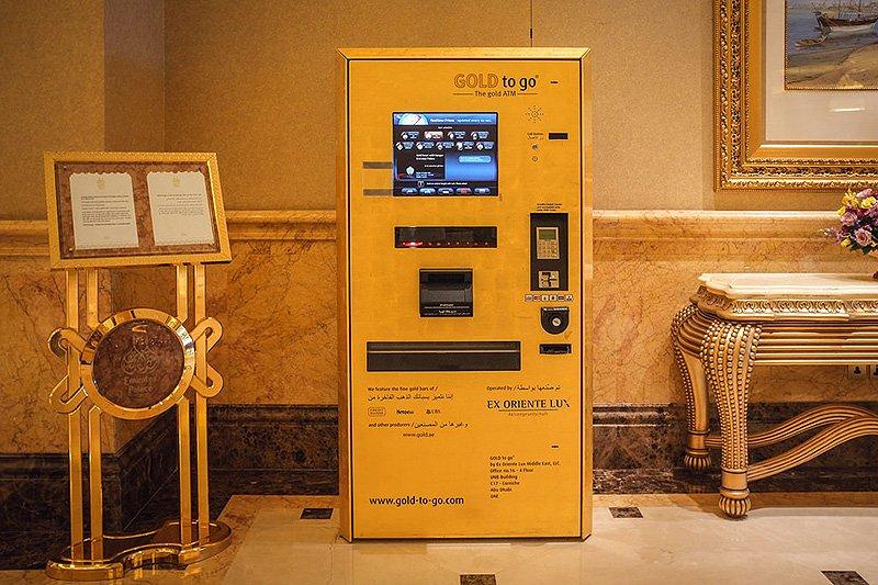 Gold ATM, Abu Dhabi