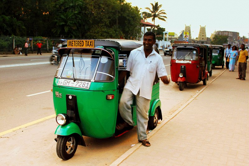 Sri Lanka, Better to choose Metered Taxi, Galle