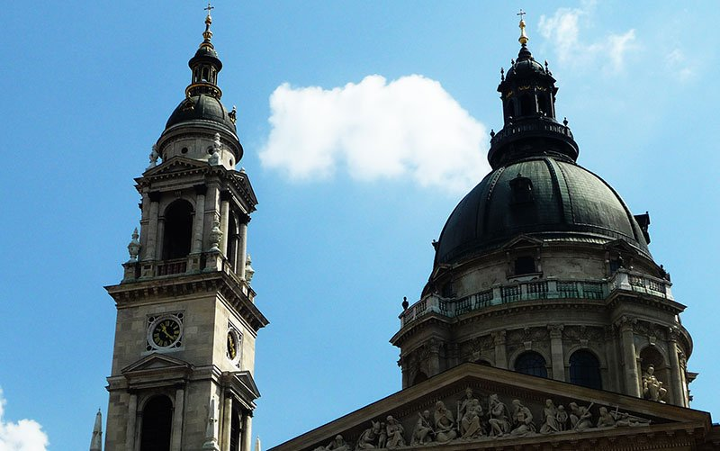 St.Stephen's Basilica towers, Budapest