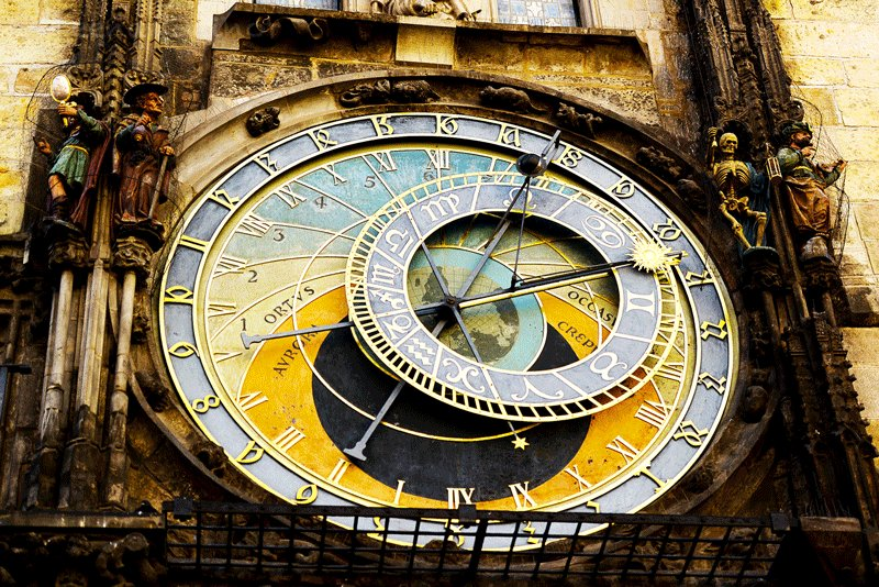 Astronomical clock on the Old Town Hall Tower, Prague