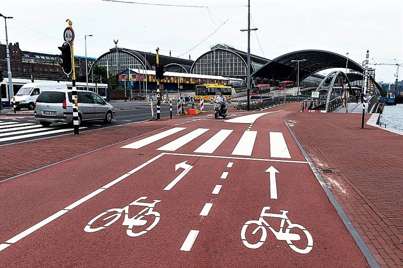 Bike paths in Amsterdam, Amsterdam