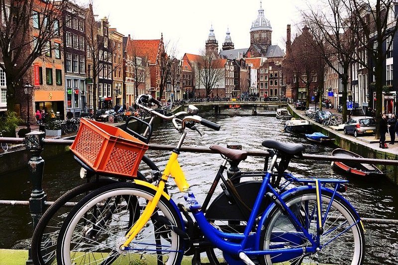 Rent a bike, Amsterdam