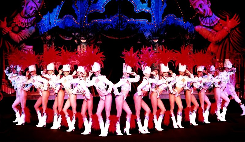 Cancan in the Moulin Rouge