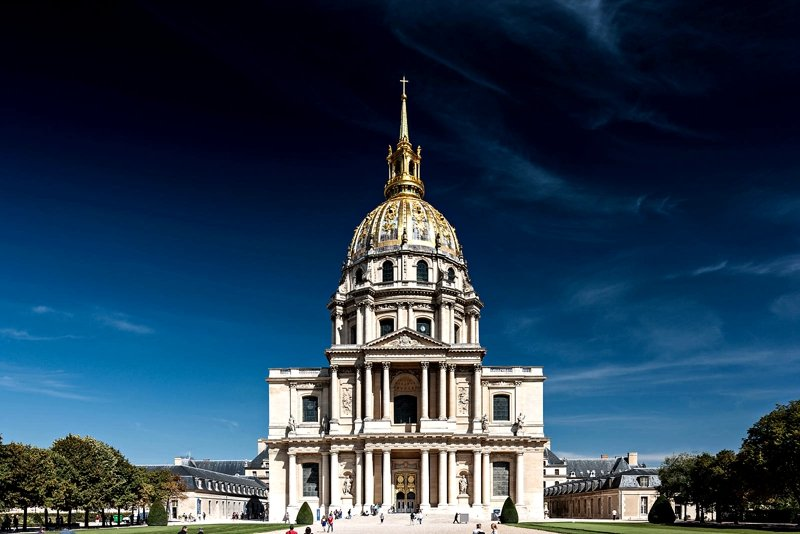Сathedral in the Les Invalides.