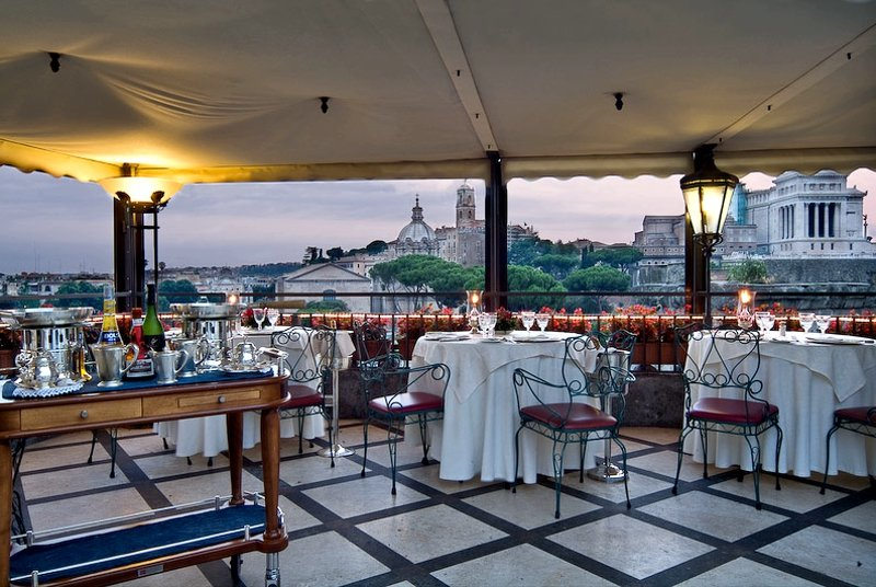 Top 10 Restaurants In Rome With An Incredible View