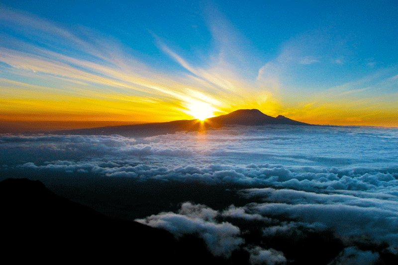 Sunrise over Kilimanjaro, Arusha