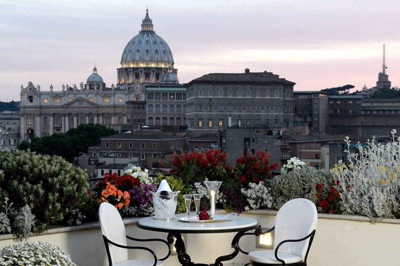Terrazza Paradiso Restaurant Rome