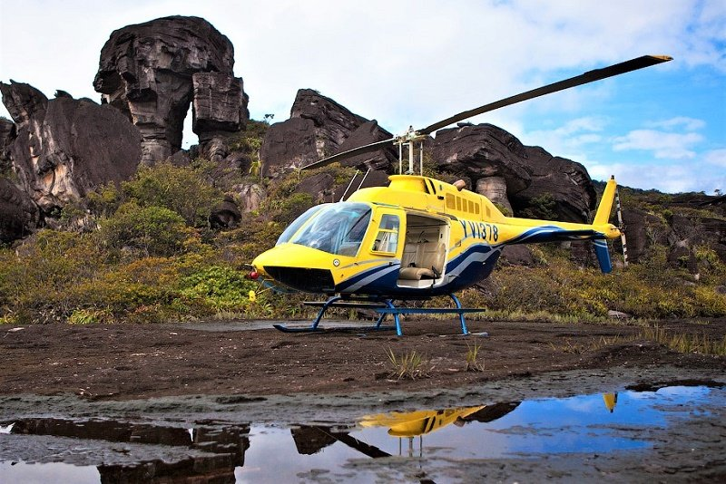 Private helicopter tour, Caracas