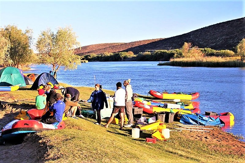 Orange river camping, Karasburg