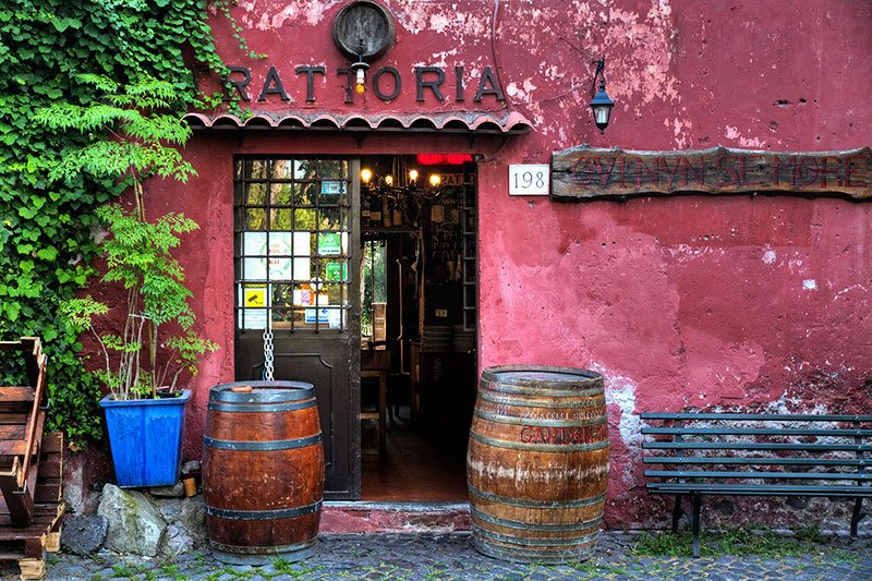 Trattoria on Appian Way