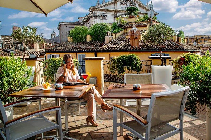 La terrazza del cesari restaurant