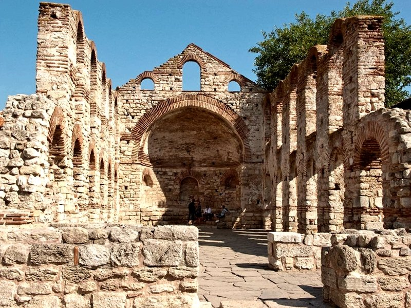 The ruins of Nessebar