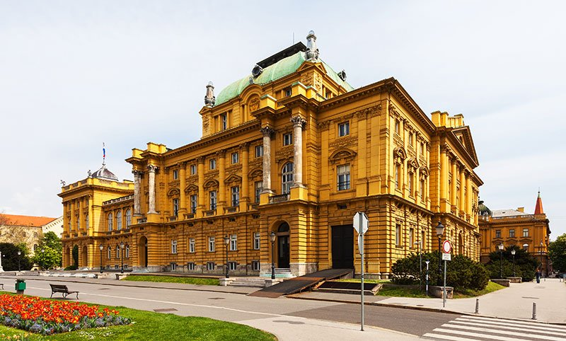 National Theater, Zagreb