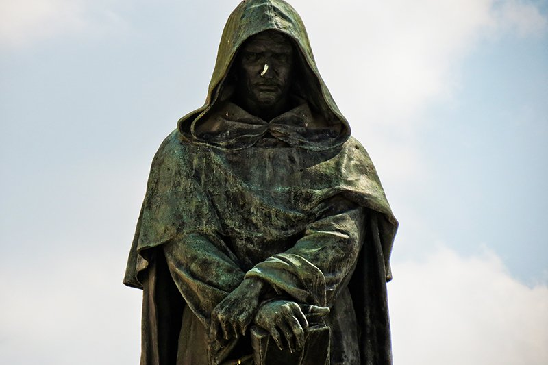 monument to Giordano Bruno, Rome