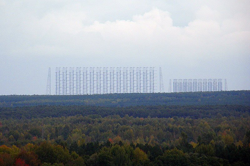 Duga radar from Pripyat