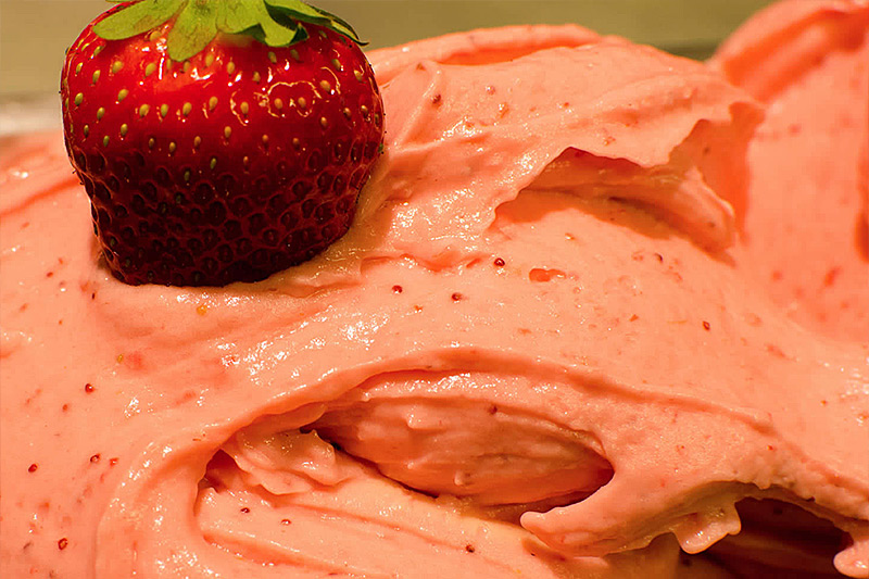 Photo: strawberry gelato