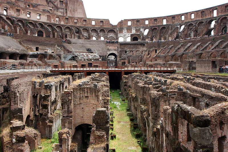 The Colosseum in the present day