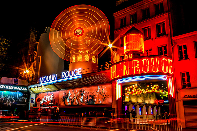 Moulin Rouge cabaret