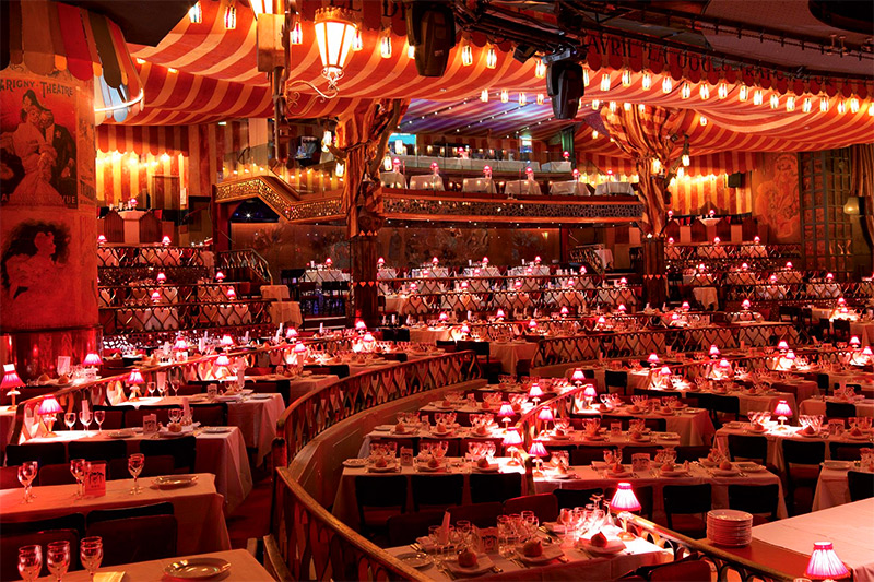 Moulin Rouge interior