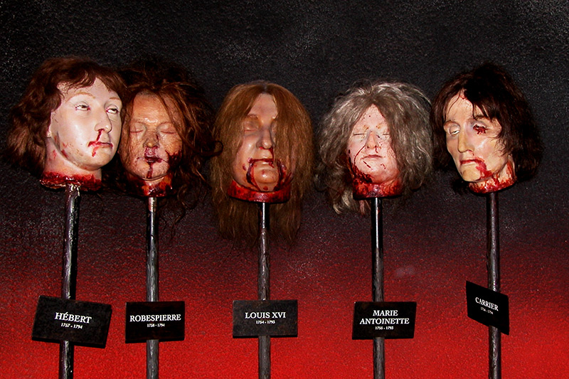 Room of Horror in Madam Tussauds Museum