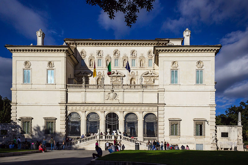 The Borghese Gallery from the outside