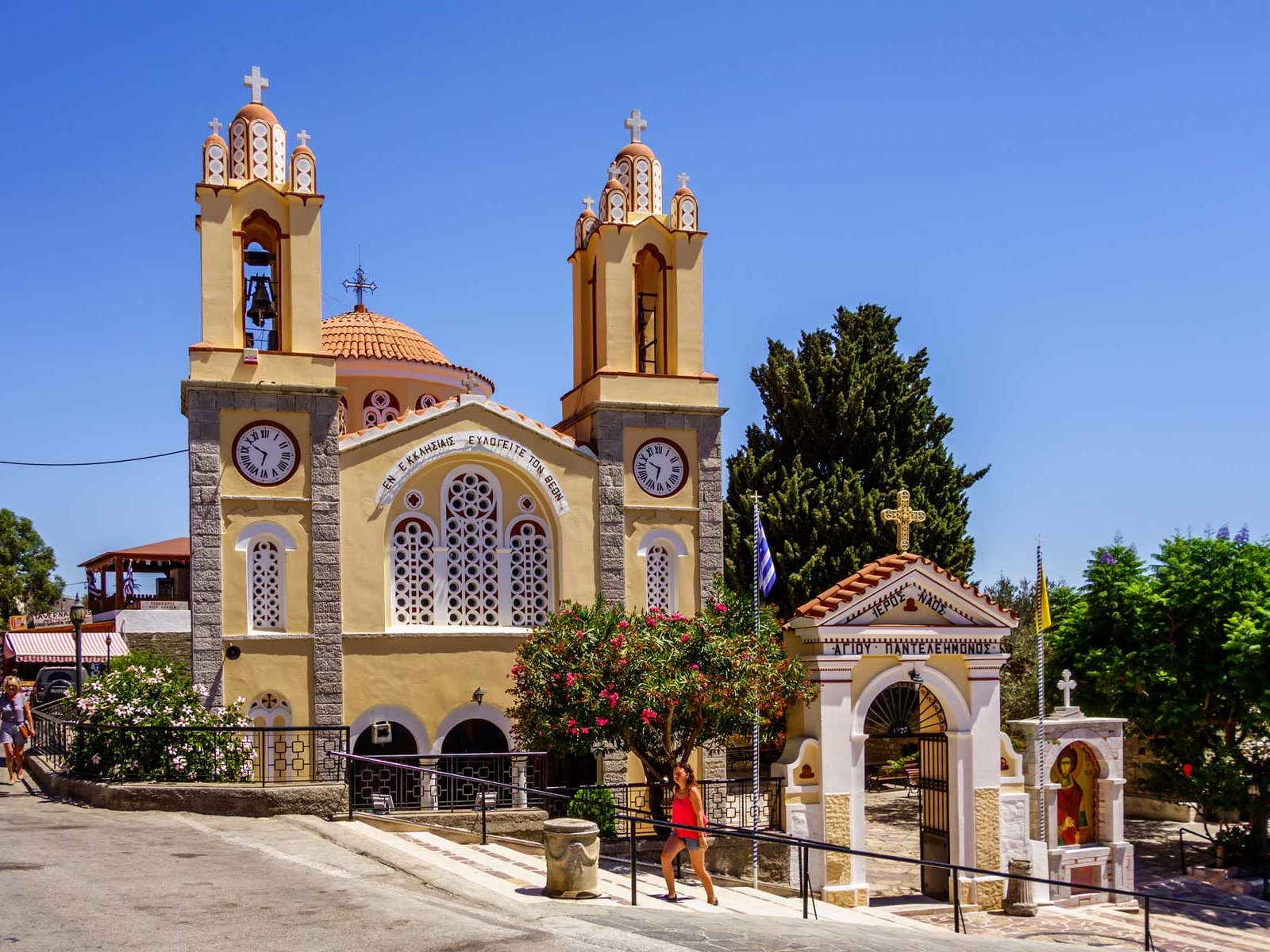 How to visit the Church of St. Panteleimon on Rhodes