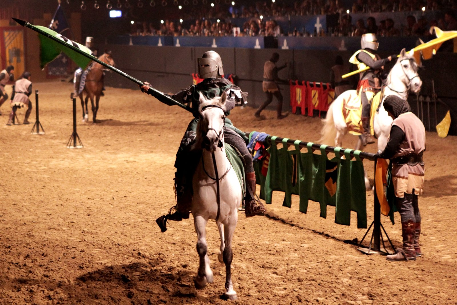 How to see a jousting tournament at the castle in Barcelona