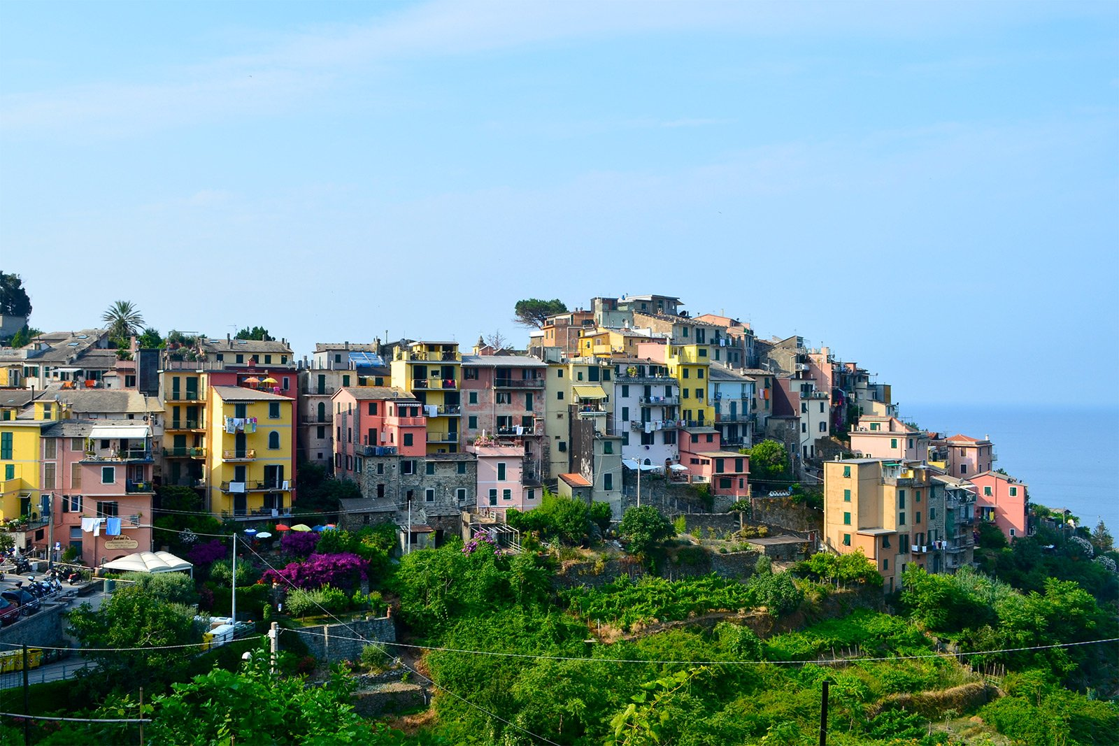 How to take a walk on Corniglia in Genoa