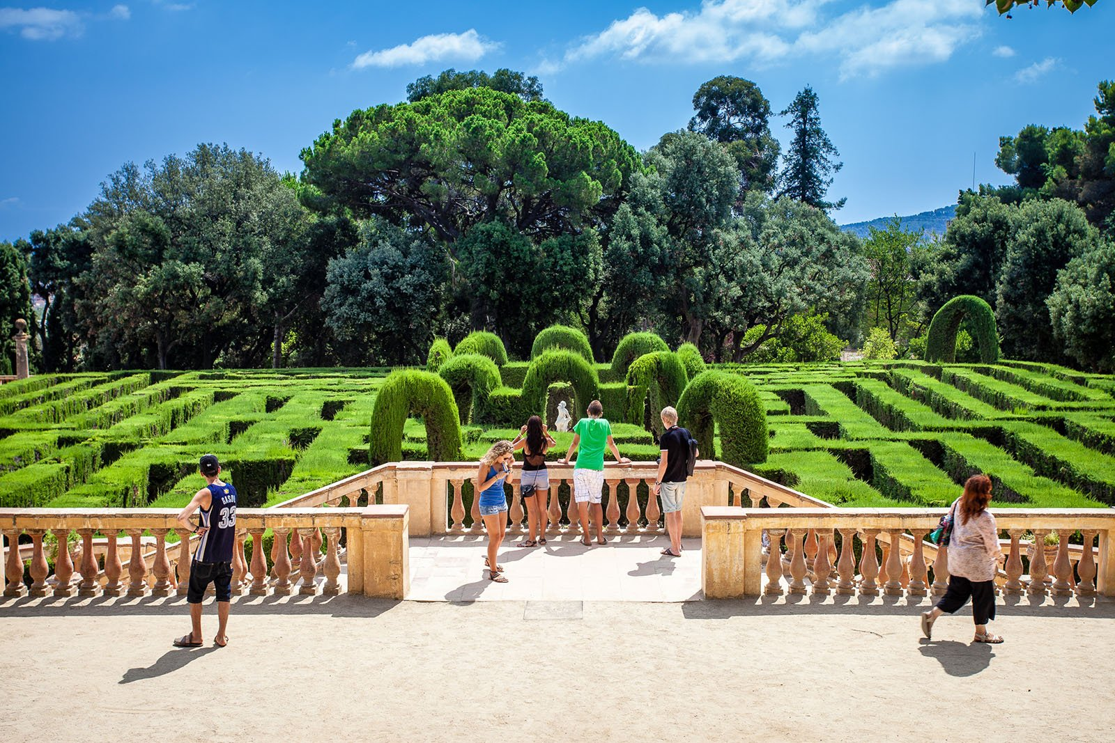 How to escape from the Laberint d'Horta in Barcelona
