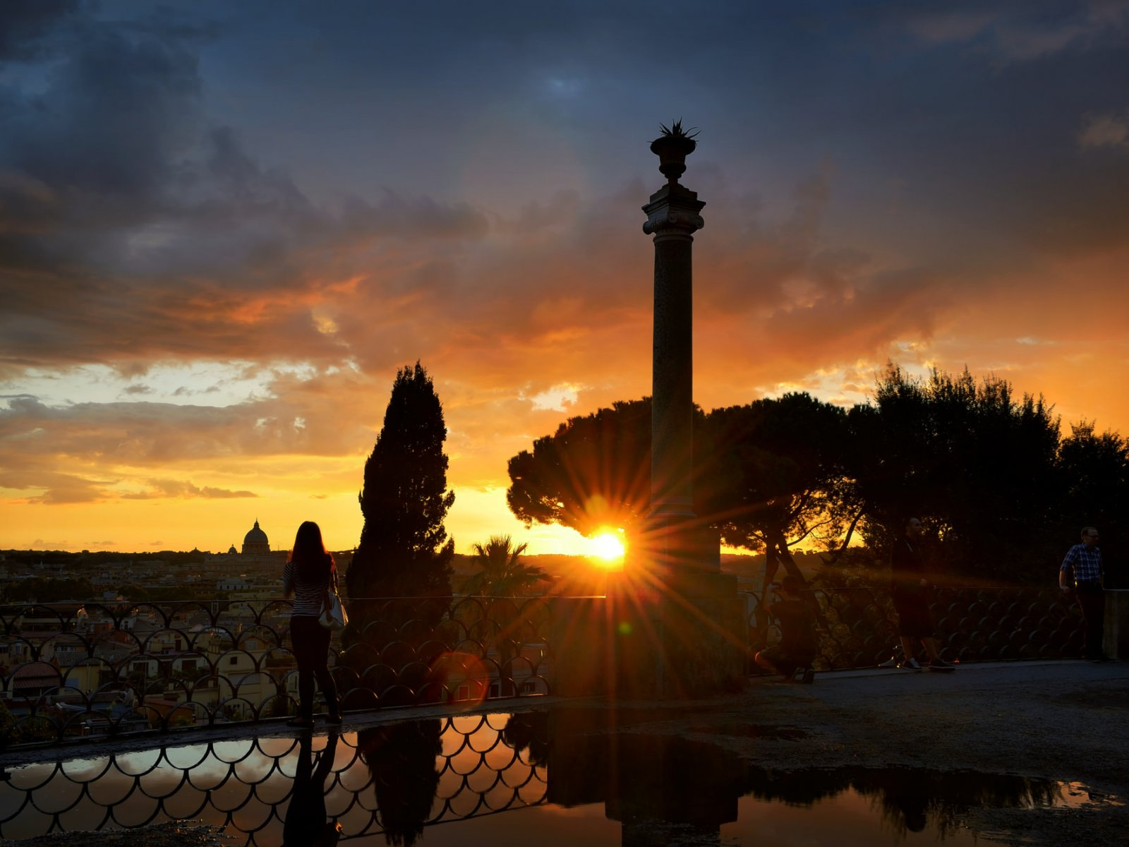 How to see the sunset from the Pincian Hill in Rome