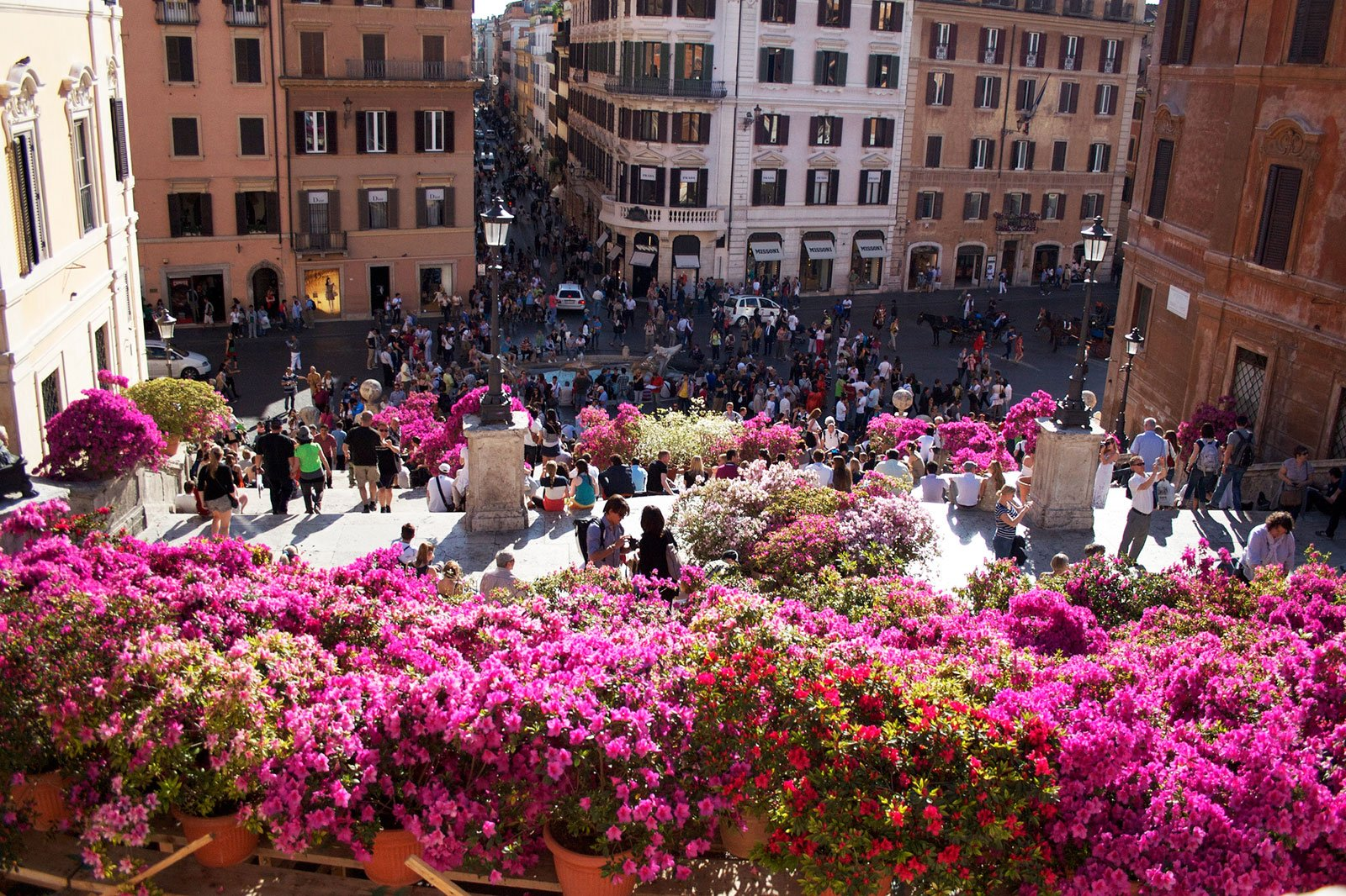 How to see the Festa della Primavera in Rome