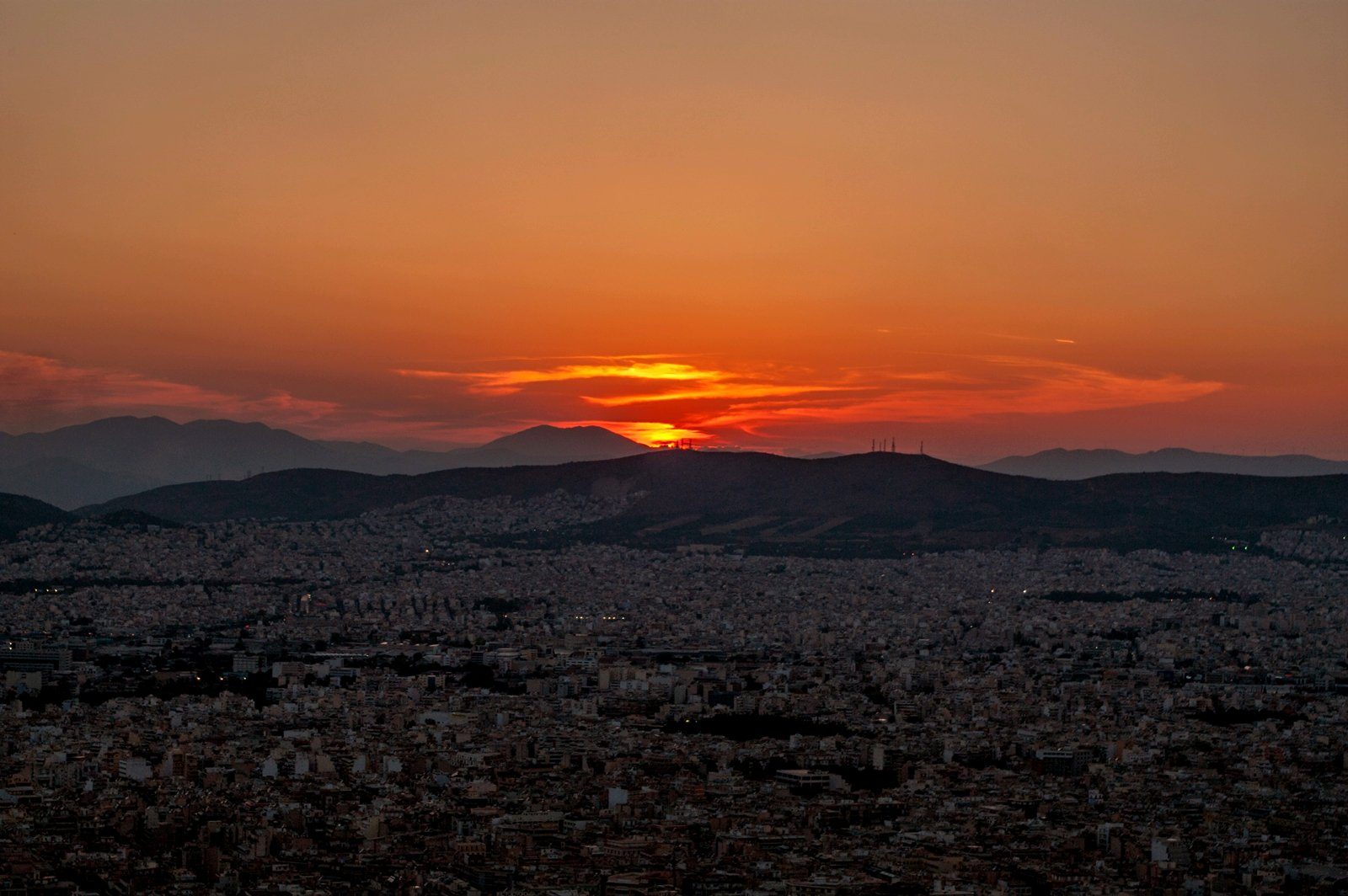 How to see the sunset from Mount Lycabettus in Athens