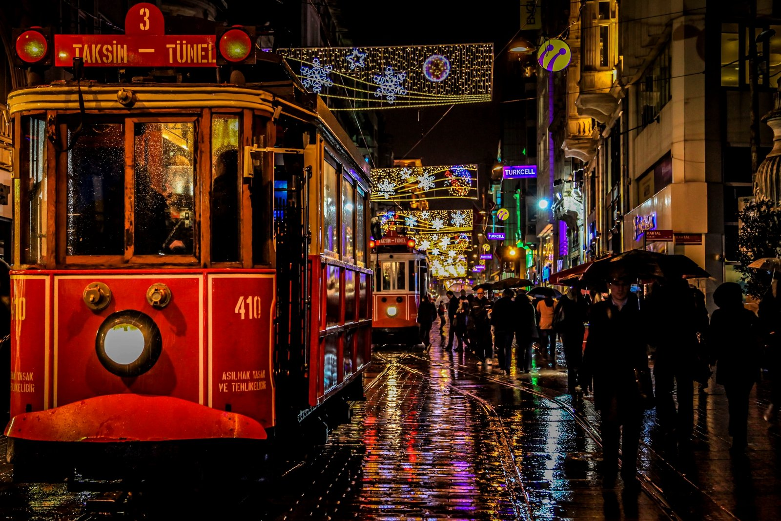 How To Ride On The Old Tram In Beyoglu District In Istanbul