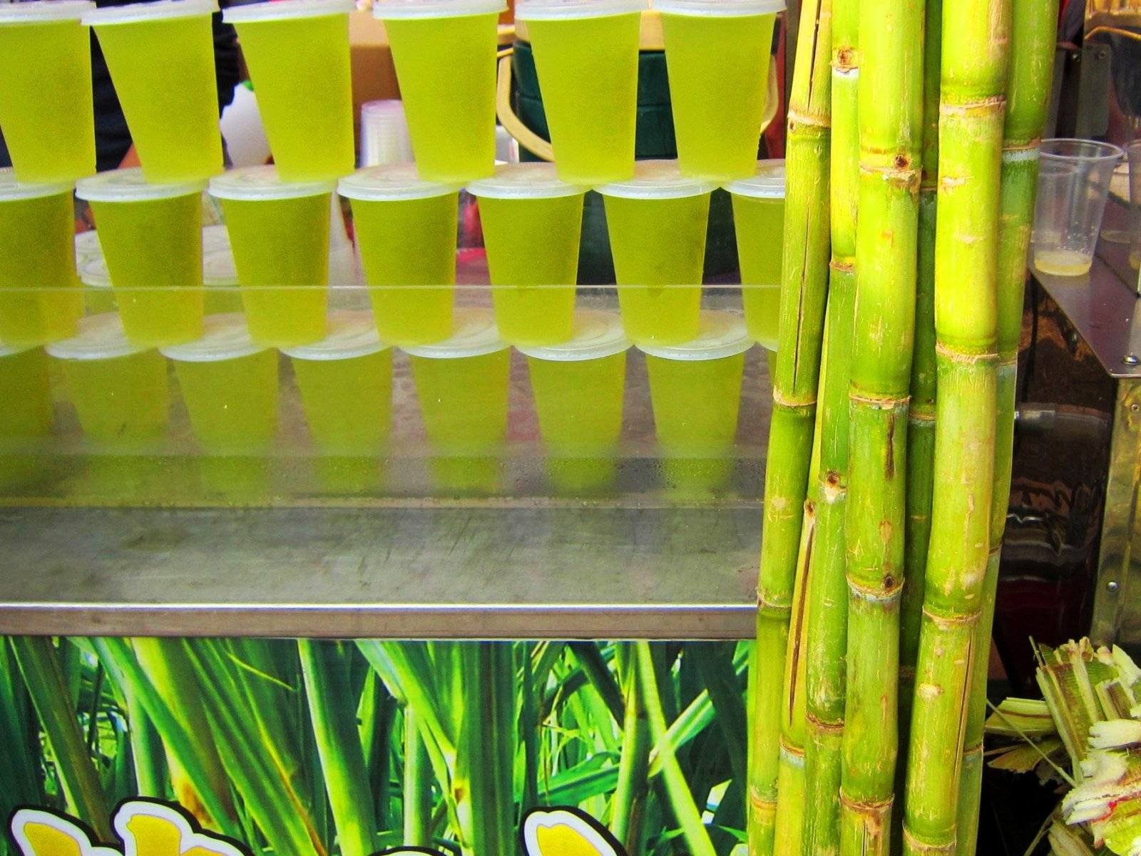 How to try sugarcane fresh in Phuket