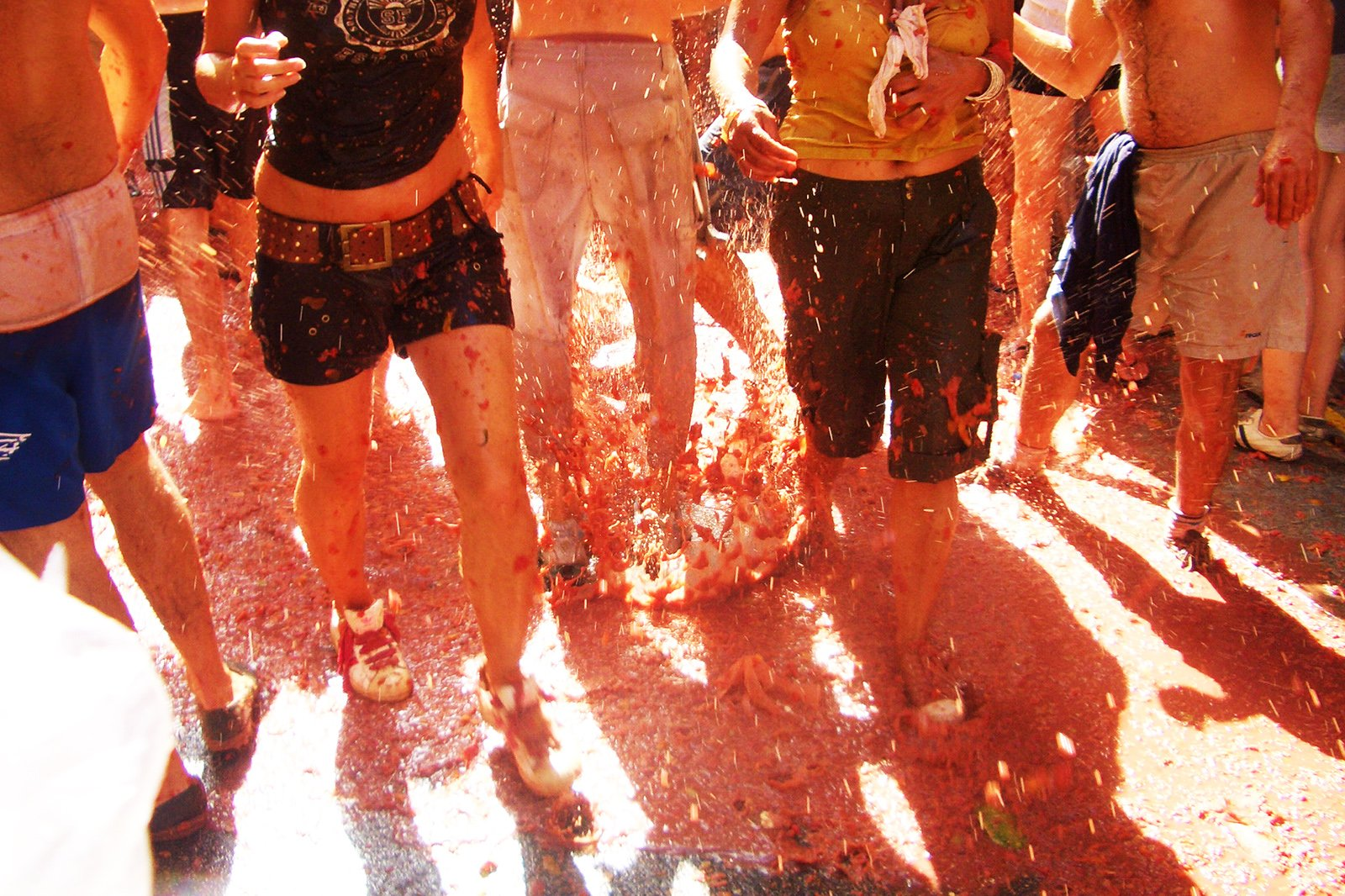 How to take a part in La Tomatina in Valencia