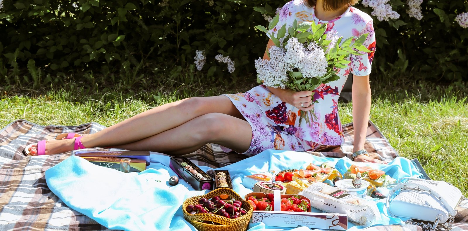 How to have a picnic in the botanical garden in Kiev